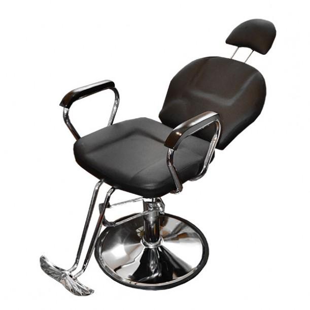 Комфортен бръснарски стол с падаща облегалка 036A