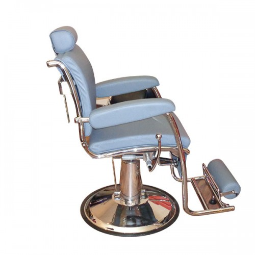 Бръснарски стол в сиво - Модел КА15