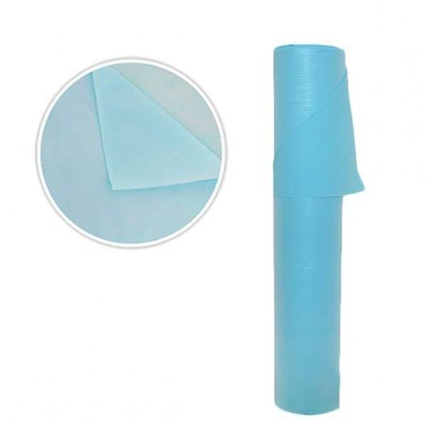 Еднократни двупластови чаршафи, сини - SB127