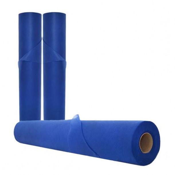 Еднократни чаршафи на ролка, сини, TNT - SB137