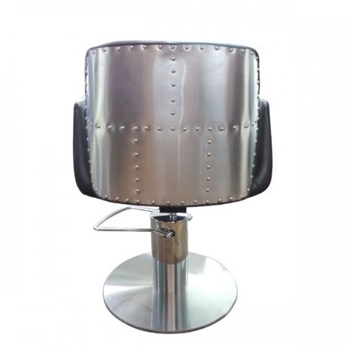 Фризьорски стол HA295 с метален акцент