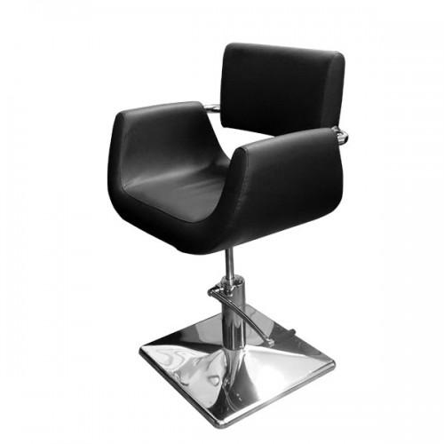 Фризьорски стол в черен цвят - Модел 060