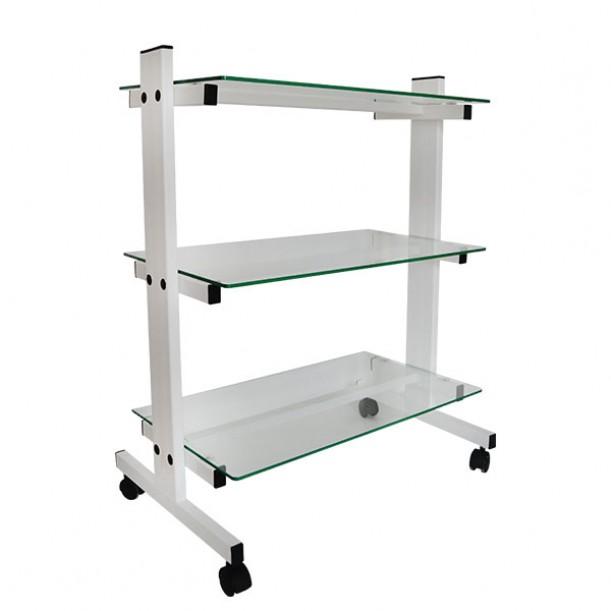 Практична работна количка за козметичен салон КК001