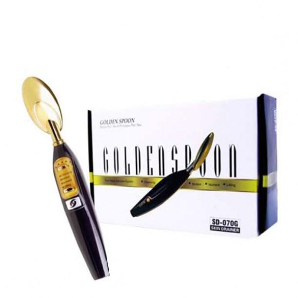 Галванична ултразвукова златна лъжичка 070G