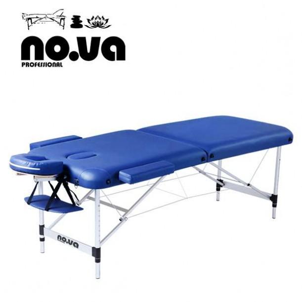 Алуминиева масажна кушетка NO.VA Aero NV22 - тъмносиня