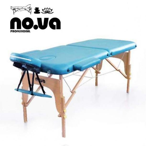 Дървена Масажна Кушетка NO.VA Standart NV22 в син цвят