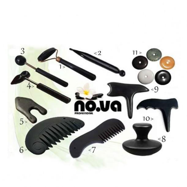 Базалтови инструменти за масаж