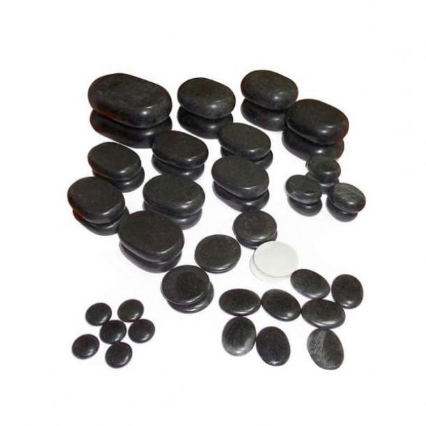Вулканични Масажи камъни – Комплект 50 бр.
