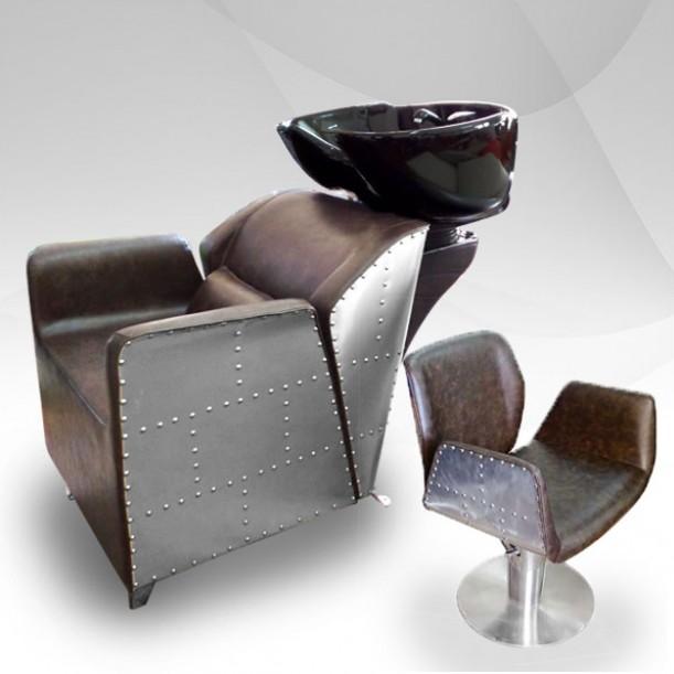 Комплект фризьорско оборудване с метални акценти AVIATOR I