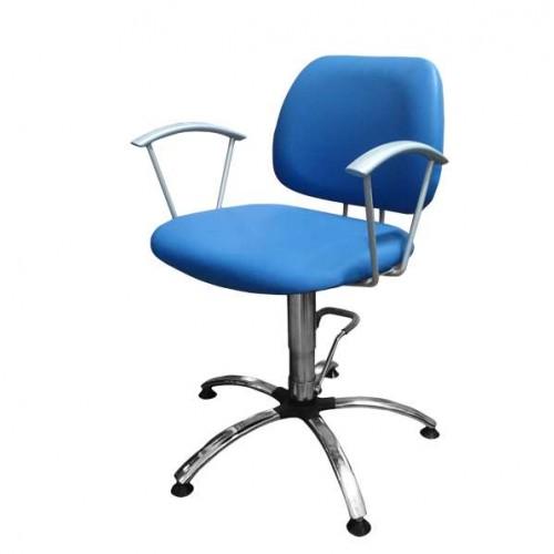 Син фризьорски стол