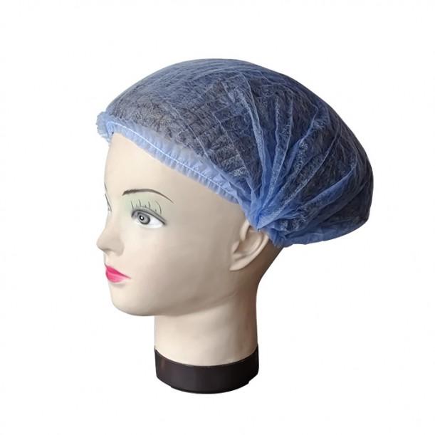 Боне за еднократна употреба, ТНТ, син цвят, универсален размер – 100бр.