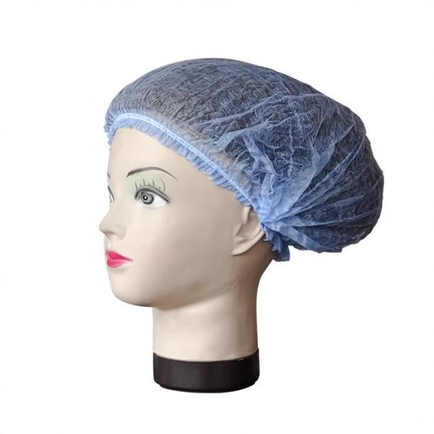 Боне за еднократна употреба, ТНТ, син цвят, 52 см – 100бр.