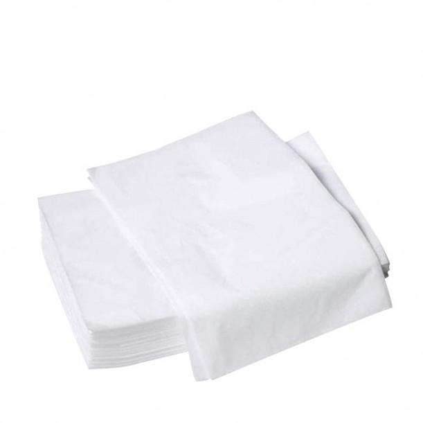 Еднократни чаршафи от нетъкан текстил без ластик – 10 бр.