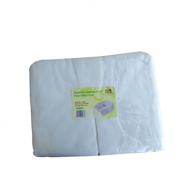 Еднократни калъфки за облегалка на масажна кушетка и легла