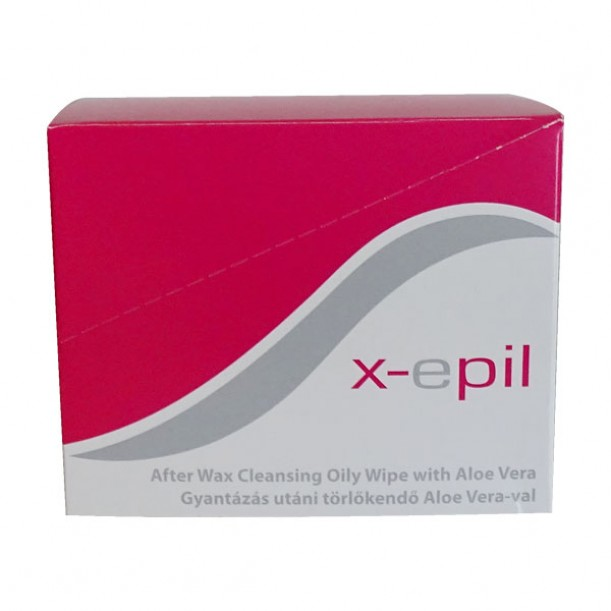 Кърпичките X-epil за почистване на остатъци от кола маска