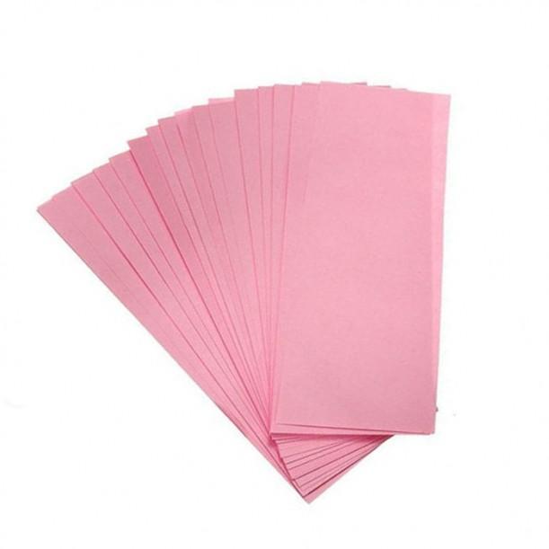 Нарязани ленти за кола маска Debyline розови 50 броя