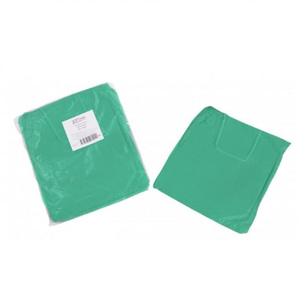 Нестерилни медицински престилки с дълъг ръкав Softcare, Зелен