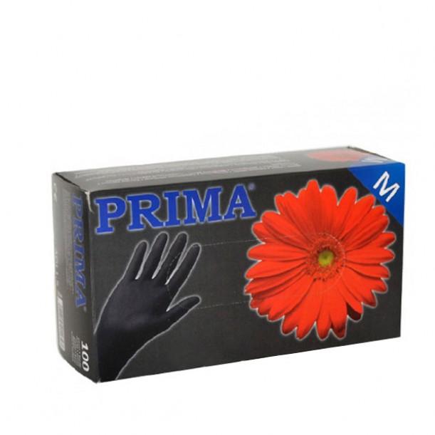Черни ръкавици, кутия 100 броя