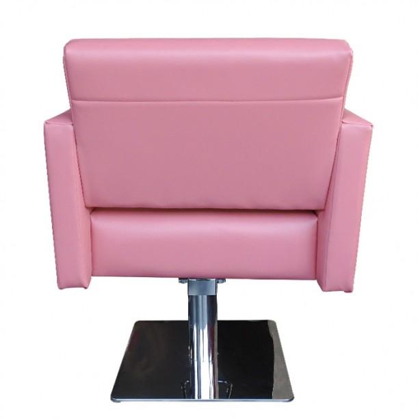 Фризьорски стол с класически дизайн М788, Розов