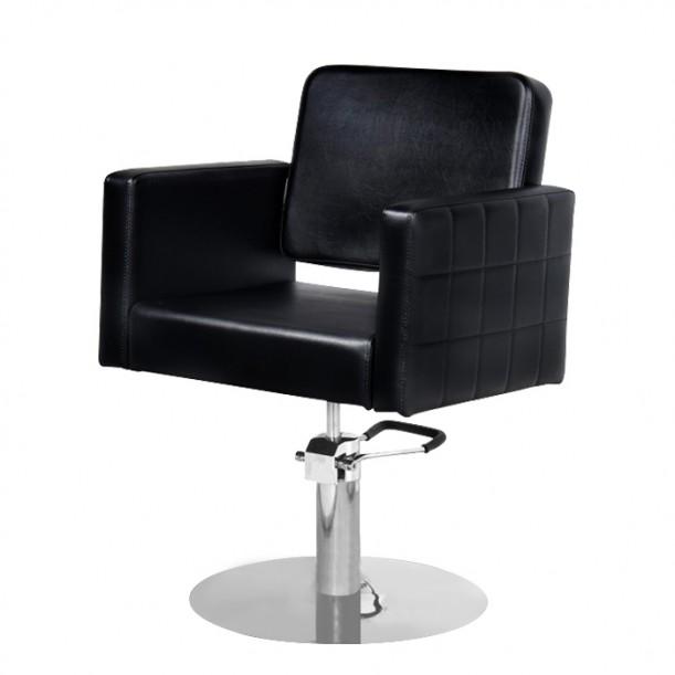 Качествен черен фризьорски стол модел M970