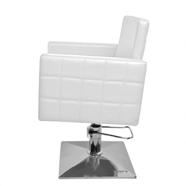 Фризьорски стол в бяло PA08F0W