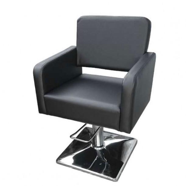 Фризьорски стол М300 - Черен