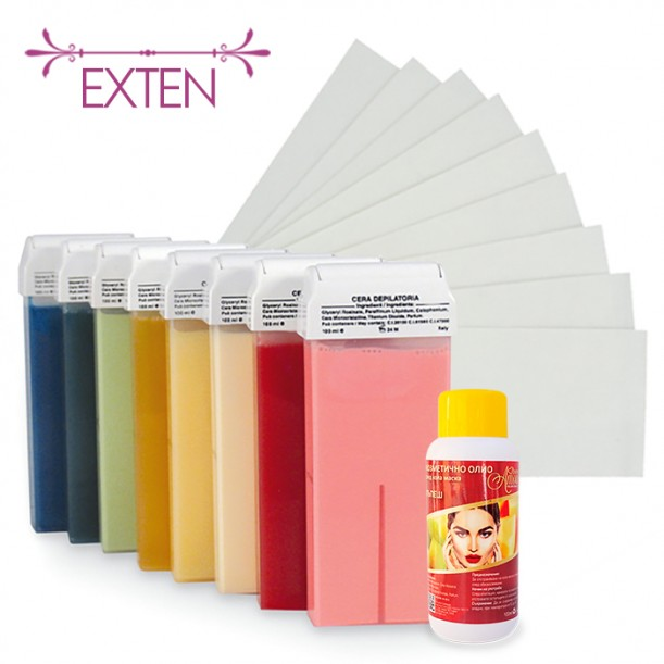 Пакет за епилация с кола маска - EXTEN