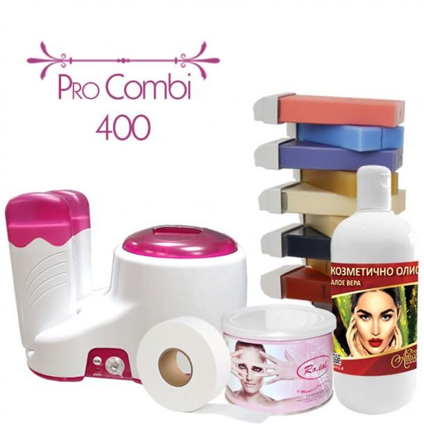 Пакет за епилация с кола маска, Pro Combi 400