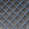 Луксозна измивна колона за фризьорски салон M402 със сини шевове