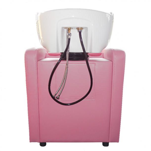 Измивна колона за фризьорски салон М708, Розова