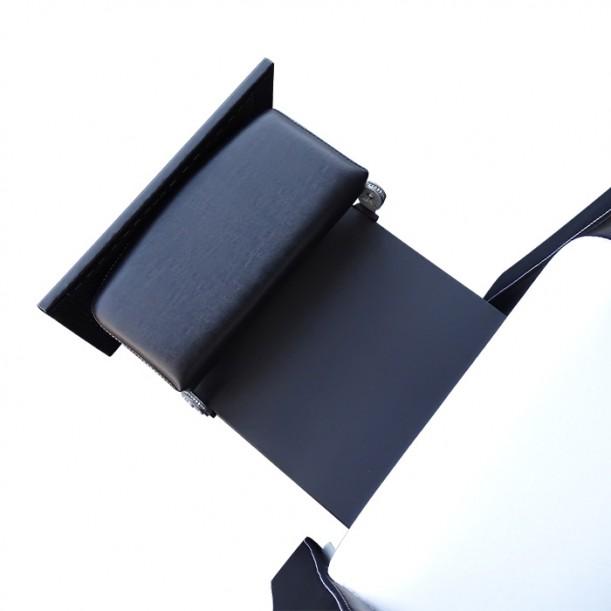 Измивна колона и стол за педикюр 2 в 1 - модел 810 плюс, Черно-бяла