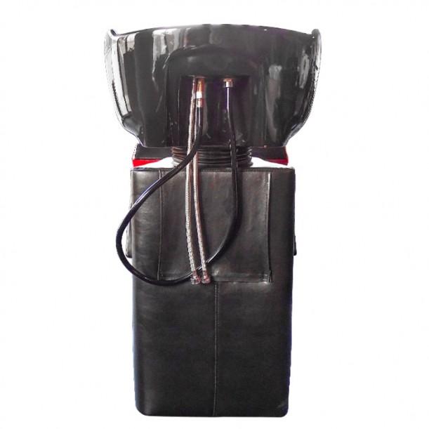 Професионална измивна колона FO22, черно-червена