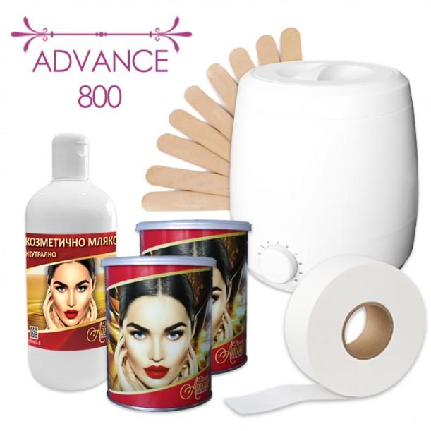 Пакет Advance 800 за епилация с кола маска в кутия