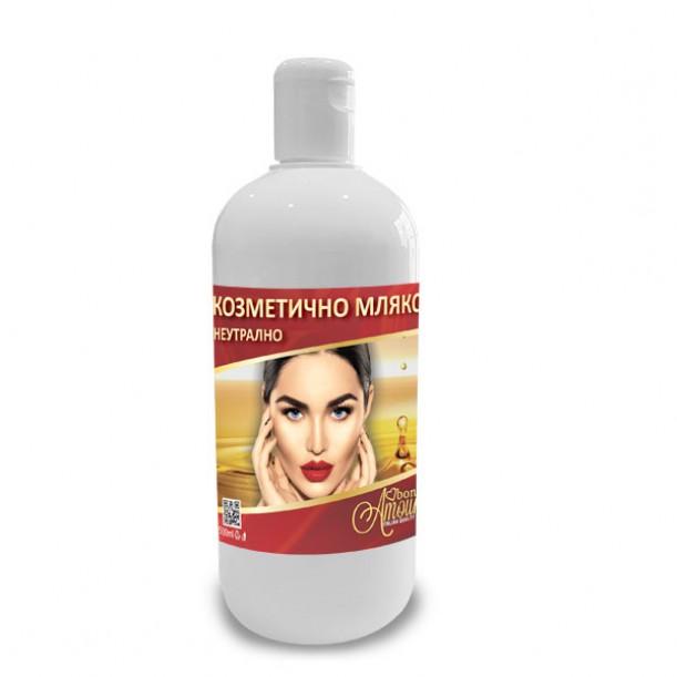 Мляко за почистване след епилация с кола маска  Bon Amour, 500 ml - различни аромати