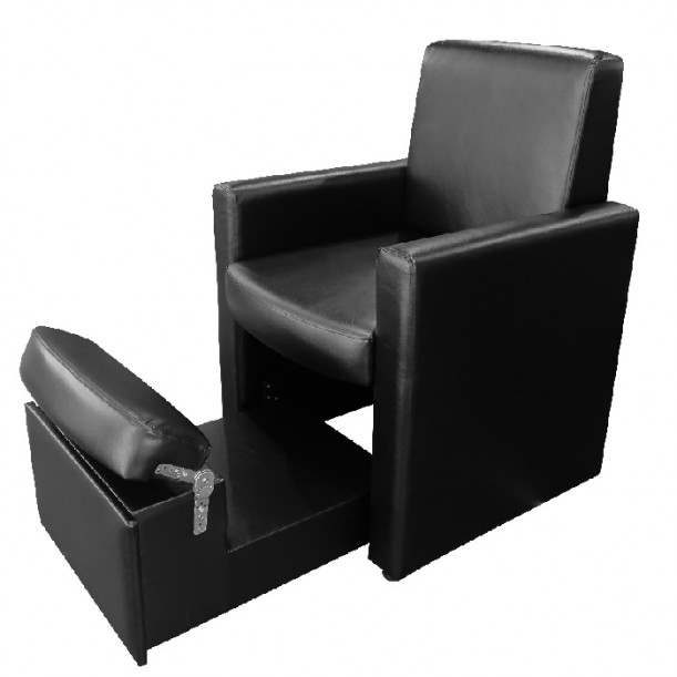 Козметичен педикюрен стол модел В9091 черен