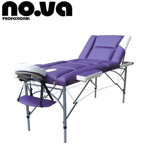 Алуминиева масажна кушетка с повдигане NO.VA Aero Delux Plus NV36