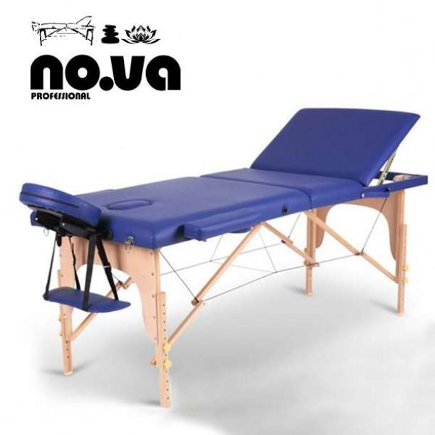 Дървена Масажна Кушетка NO.VA Standart Plus NV31 – синя