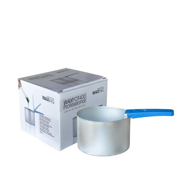 Контейнер с подвижна дръжка за нагряване на кола маска на перли и дискове WAXPOT400