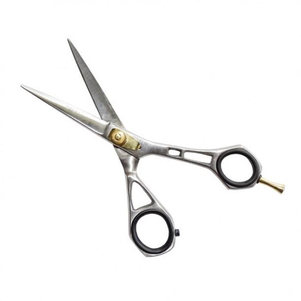 Качествена фризьорска ножица за подстригване от неръждаема стомана Oberon модел FO42