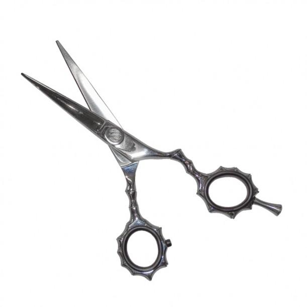 Ножица за подстригване с ергономична форма N7, Сребрист цвят