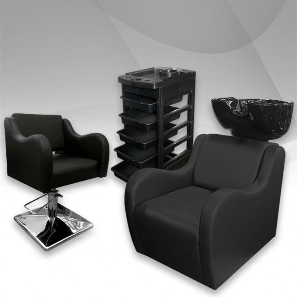 Пакет за фризьорски салон Leather