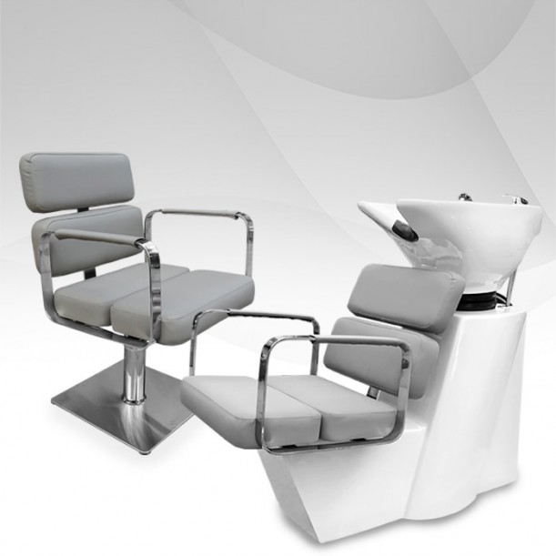 Комплект за фризьорски салон - Grey