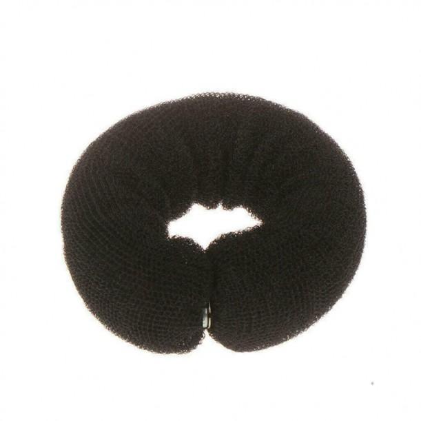 Подплънка за кок, 250 мм, Черна