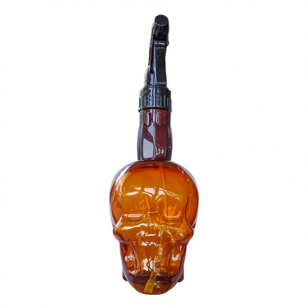 Спрей пулверизатор за фризьорски и бръснарски салони Brown Skull