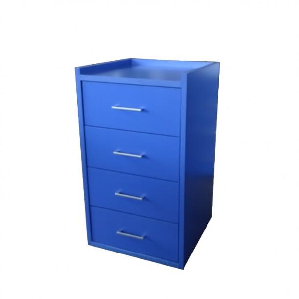 Шкаф за съхранение на козметични и фризьорски материали модел 404